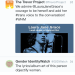 Laura Jane Grace vs TERFs