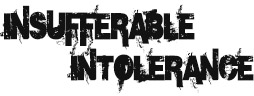 Insufferable Intolerance logo