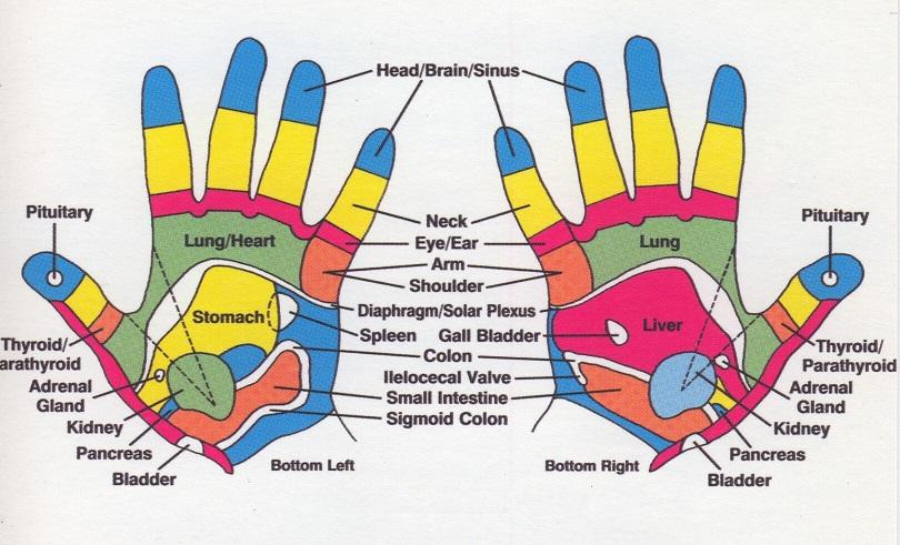 Reflexology orgasm